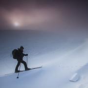 ski de randonnée nordique, plateau de Beurre 1