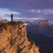 Salut au soleil et au Mont Aiguille, Vercors