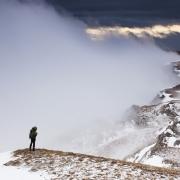 Premières neiges sur le plateau d'Ambel, Vercors
