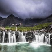 yoga dans les Cuillins Ecosse