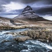 Les randonneurs de Snaefellsnes, Islande
