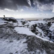Randonnée hivernale sur Skogatrail, Islande