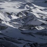 Randonnée glacière, Islande
