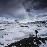Lagoon gelé, Islande