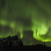 sous les aurores, Islande