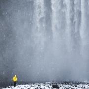 rando Skogafoss, Islande