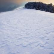 Lever de brume sur les hauts-plateaux