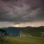 Ciel d'orage sur le plateau, Vercors